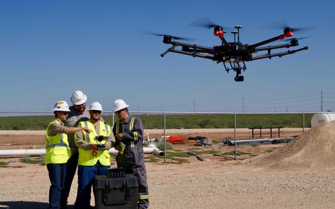 Założenie firmy zajmującej się dronami w branży ropy i gazu