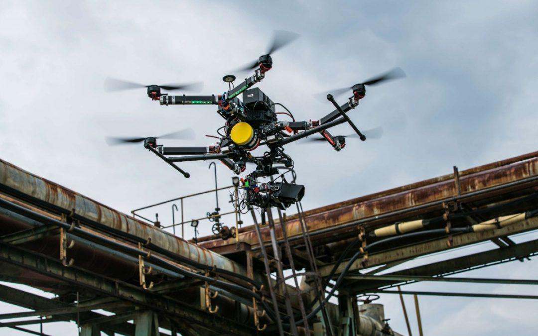Rodzaje czujników wykorzystywanych z UAV